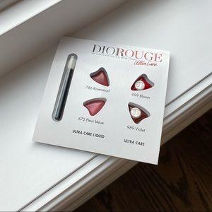 Sample size DIOR Rouge ultra care & Ultra care liquid